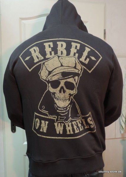 Sweatshirt-Jacke-Rebel