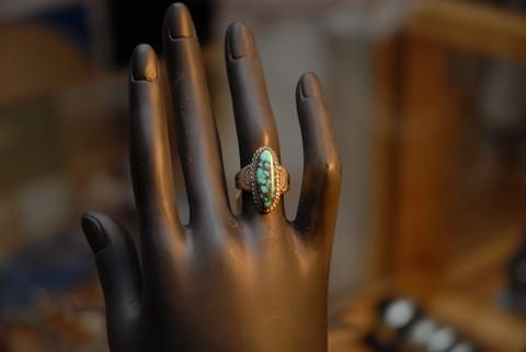 Ring mit Naturtürkis