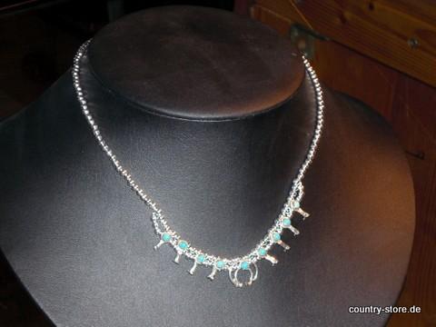 Squash Blossom Halskette
