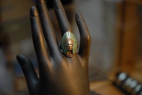 Ring - echte Handarbeit
