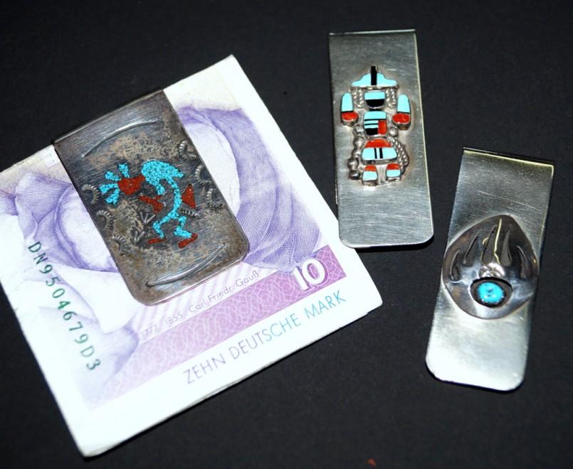 Geldklammer Navajo