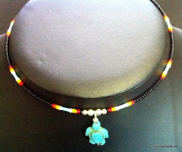 Halskette Schildkröte