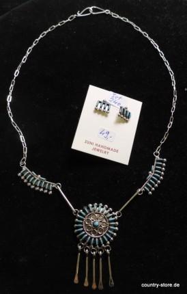 Halskette Zuni