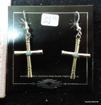 Ohrhänger Kreuz
