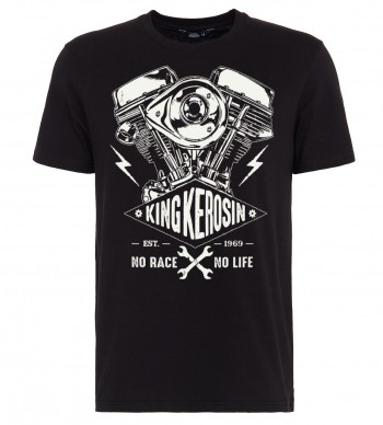 T-Shirt King Kerosin No Race