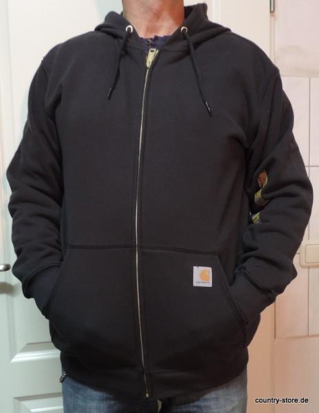Hoodie Sweatshirt-Jacke