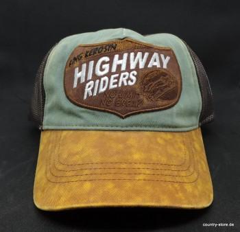 Trucker Cap im Used-Look »Highway Riders«