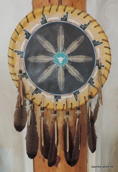 War Shield Skull-Feather