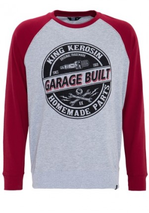 Sweat-Shirt King Kerosin Garage Built
