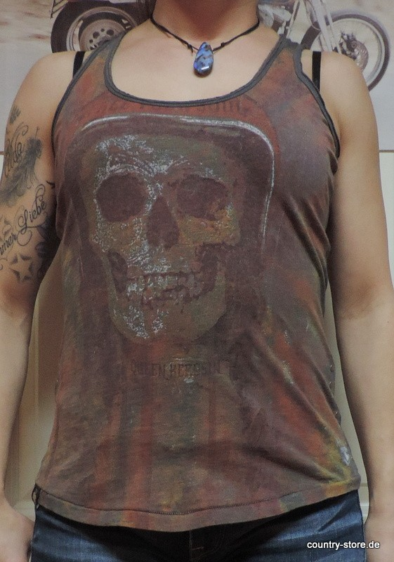 T-Shirt Queen Kerosin Soul Skull