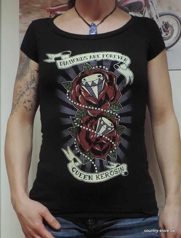 T-Shirt Queen Kerosin Diamonds