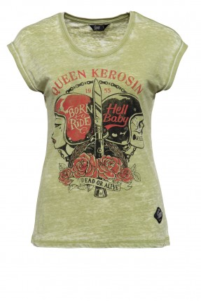 T-Shirt Queen Kerosin