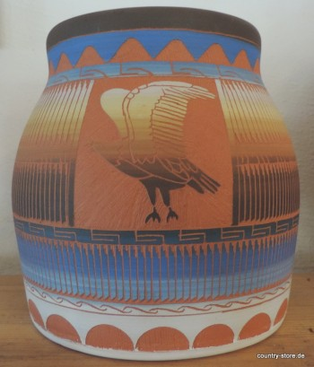 Töpferware-Pottery-Eagle
